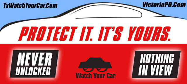 Protect it. Its yours. Never Unlocked. Nothing in view. Watch your car