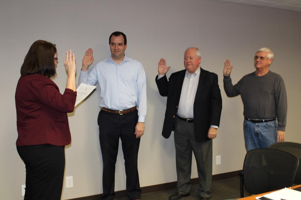 Sales Tax Development Corporation swearing-in
