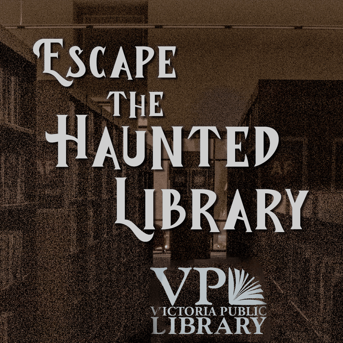 Escape the Haunted Library, new virtual escape room available now