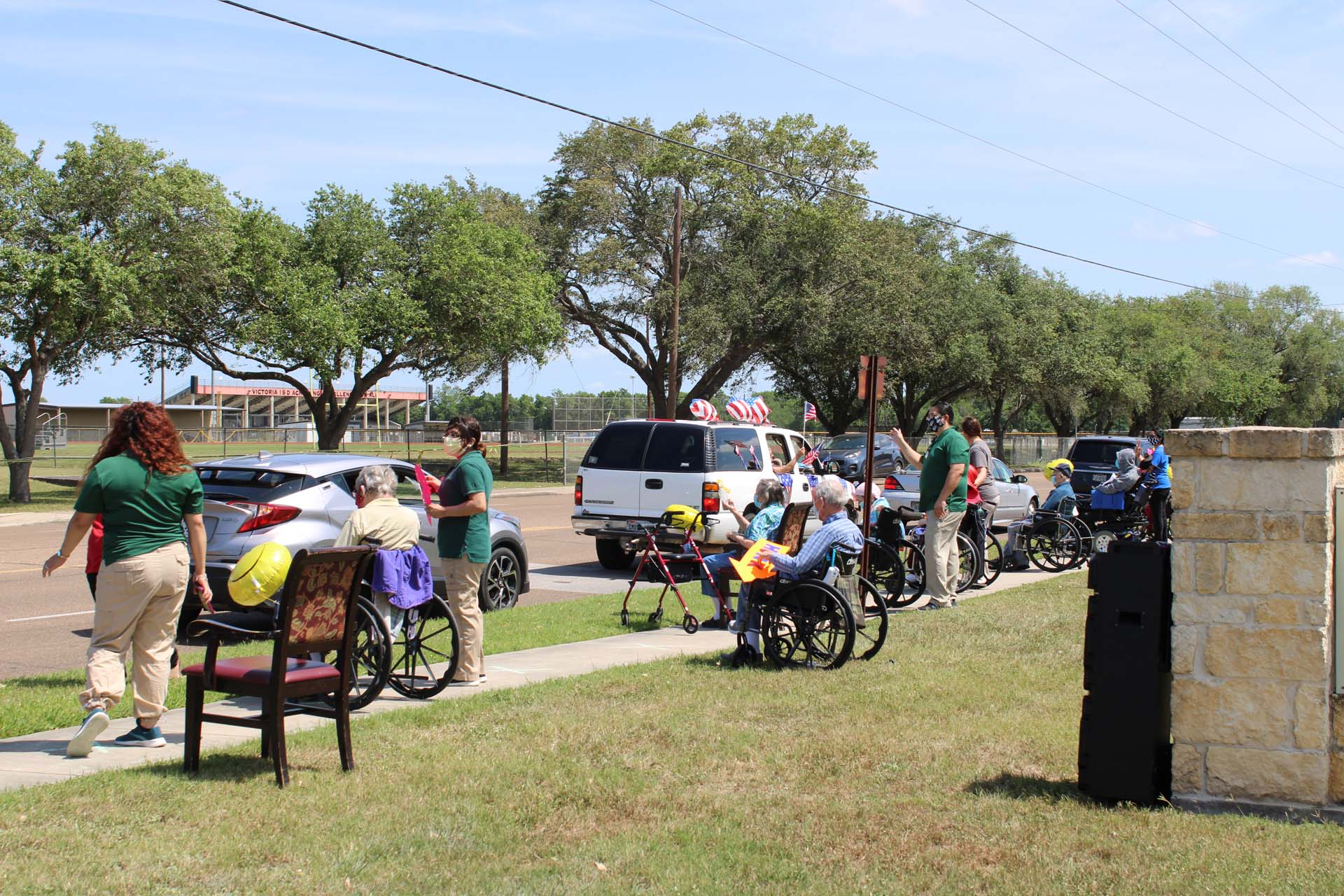 Retama Manor parade
