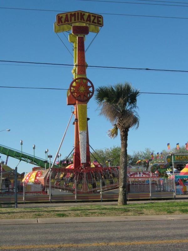 Outdoor carnival ride